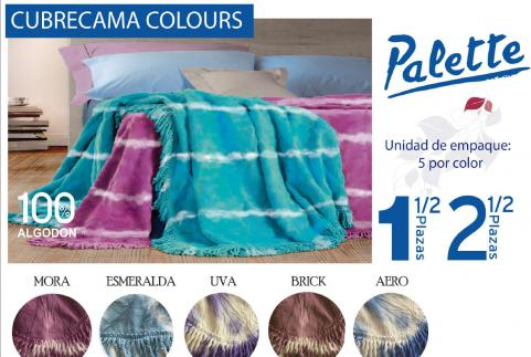 CUBRECAMA PALETTE COLOURS 1 1/2 PLAZA