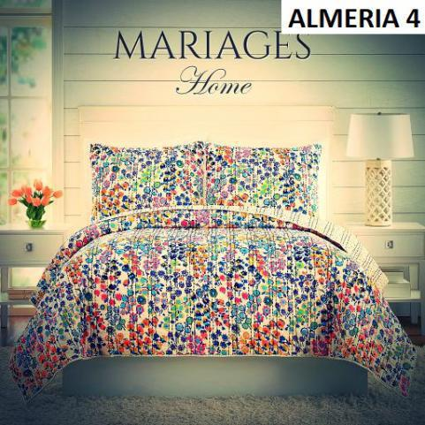 COLCHA QUILT MARIAGES HOME QUEEN