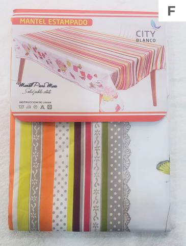 MANTEL CITYBLANCO TROPICAL 2.00 MTS